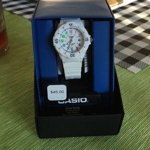 NWT CASIO Watch. Never worn.